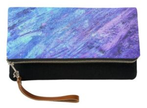 Abstract Painting Clutch Purse