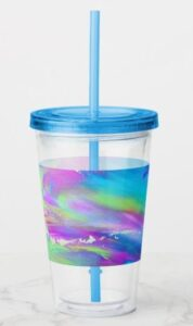Abstract Painting Tumbler