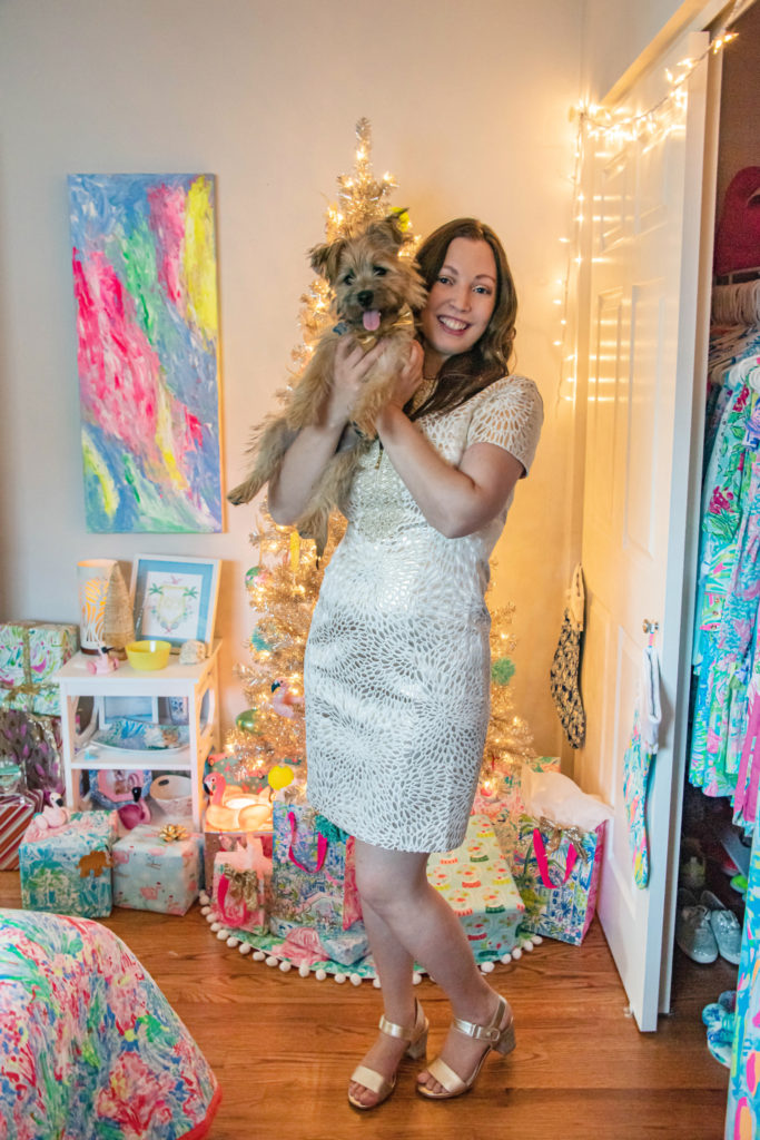 Lilly Pulitzer Christmas Portrait