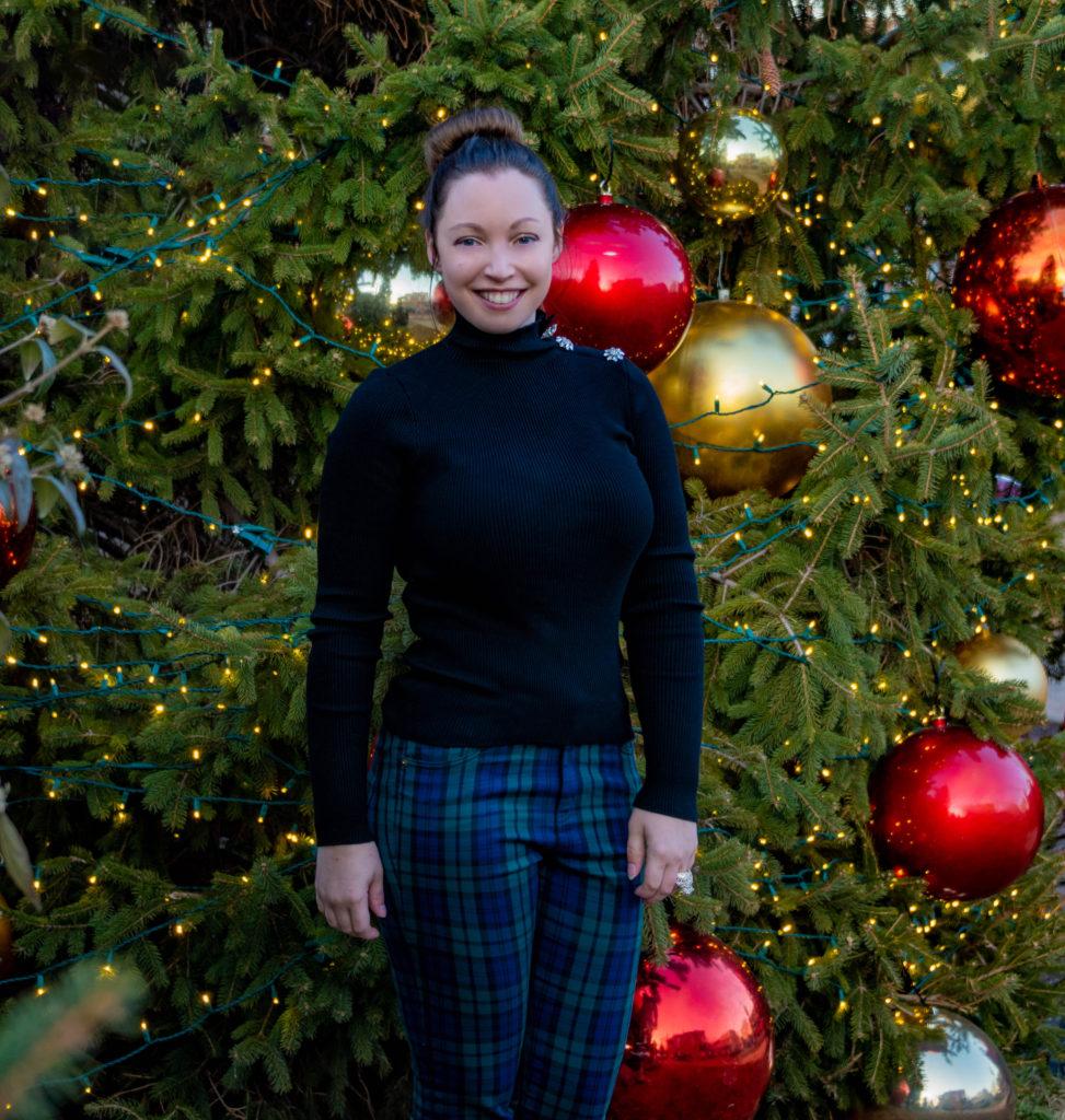 Christmas Plaid Fashion