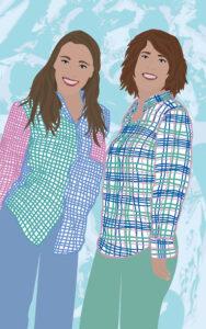 Vineyard Vines Custom Digital Portrait