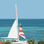 Aruba Sailboat Illustration