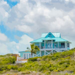 Turks & Caicos Beach House Illustration