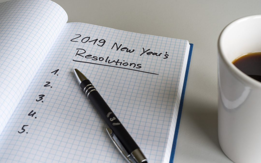 Read, Write, Pray…My New Year's Resolutions