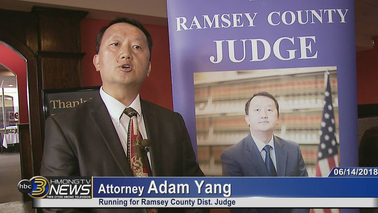 Kick-off Event for Adam Yang for Ramsey County Judge.
