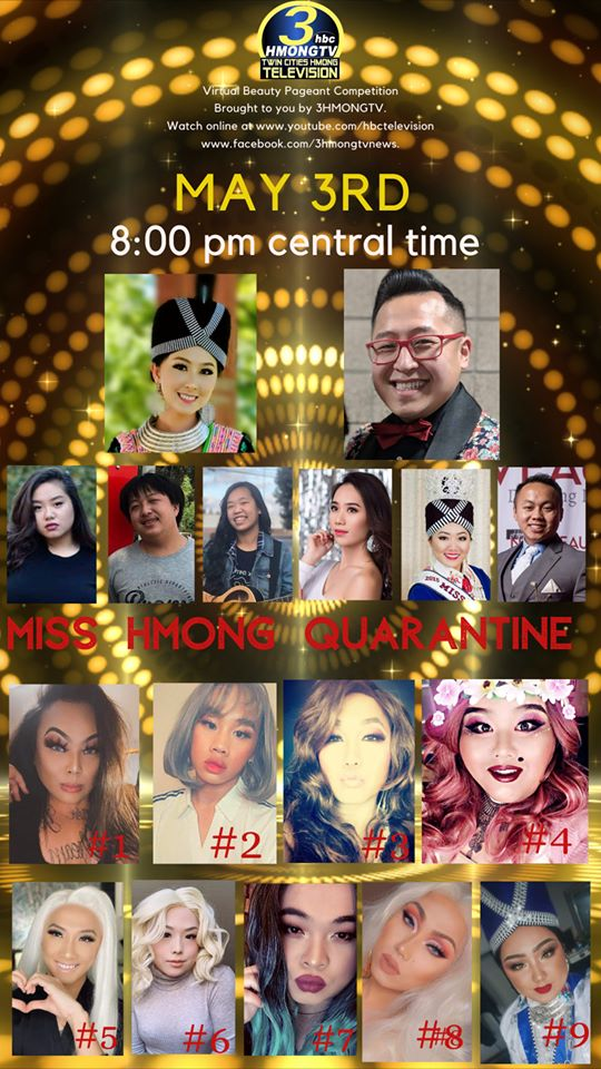 UPCOMING VIRTUAL BEAUTY PAGEANT COMPETITION, MAY 3, 2020.