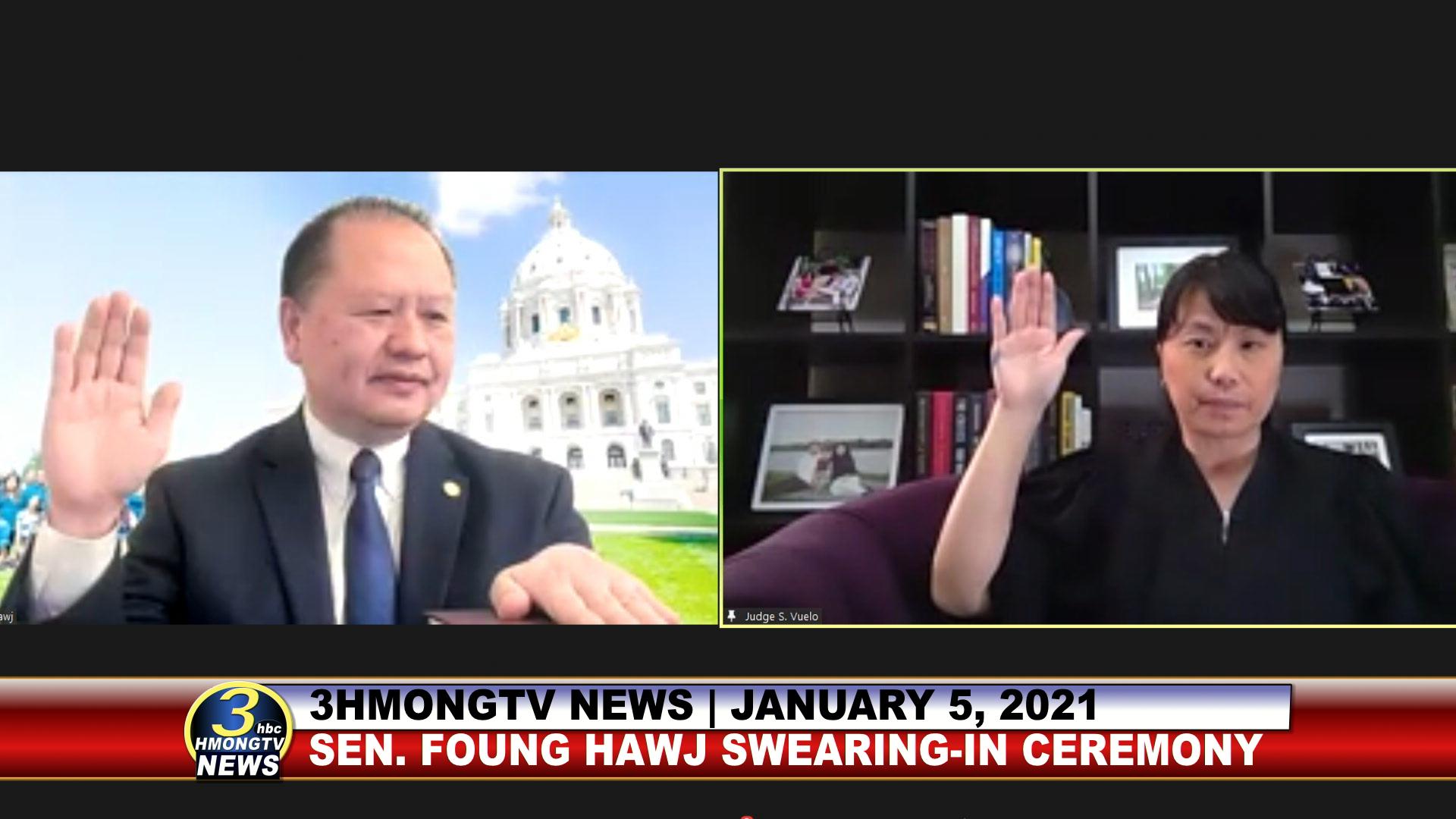 SEN. FOUNG HAWJ SWEARING-IN CEREMONY (01/05/2021)