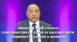 CONVERSATION ON COVID-19 VACCINE IN THE HMONG COMMUNITY