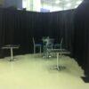 black backdrop rental
