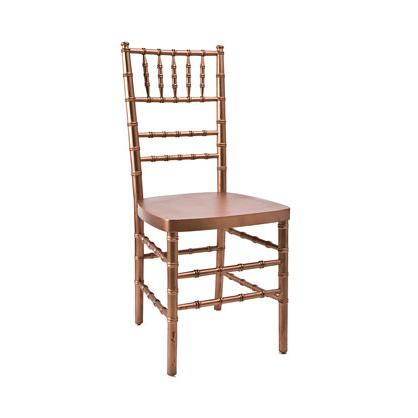 copper chiavari chair rental