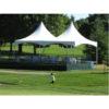 20x20 high peak frame tent rental chicago event