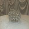 4inx5in crystal votive holder