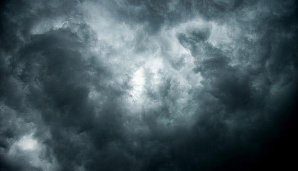Storm clouds in South Carolina