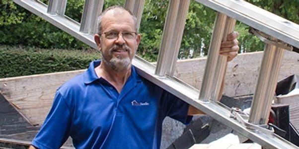 Warren Keisler with Clyde Nettles
