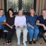 Son, adoptee, 96 y/o grandma, birth mom, brother