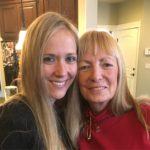 Birth mom with granddaughter