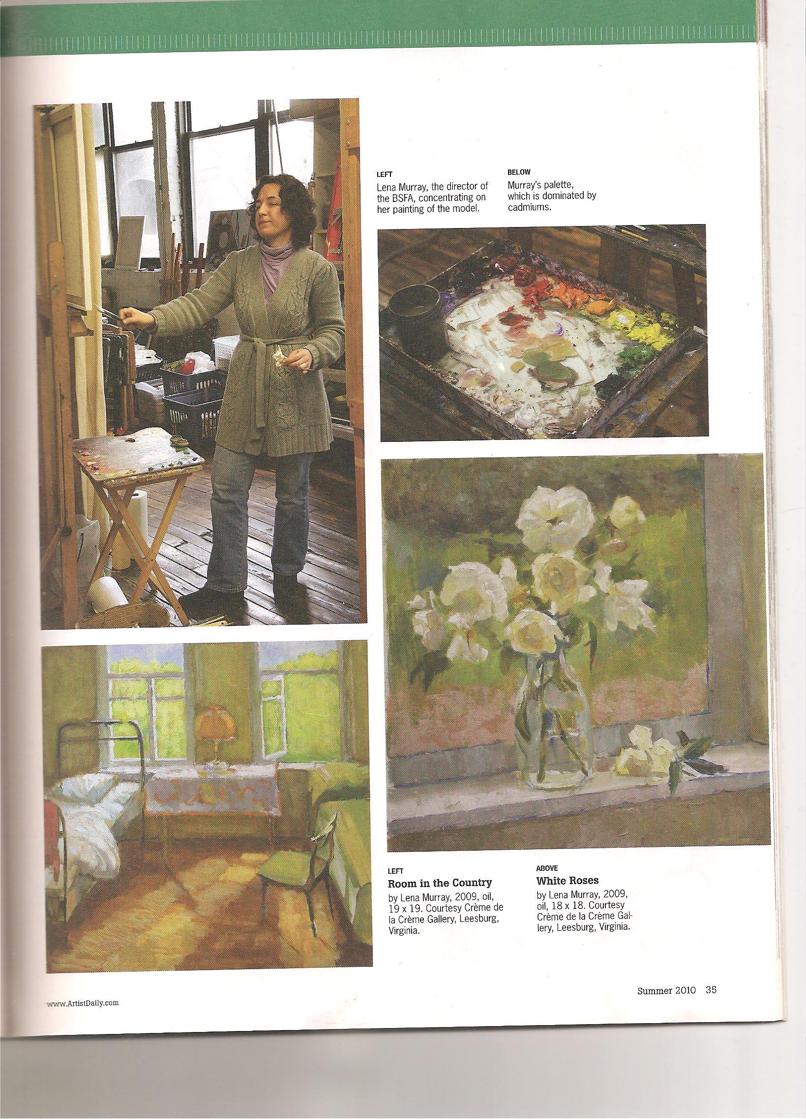 American Artist Magazine, Summer 2010