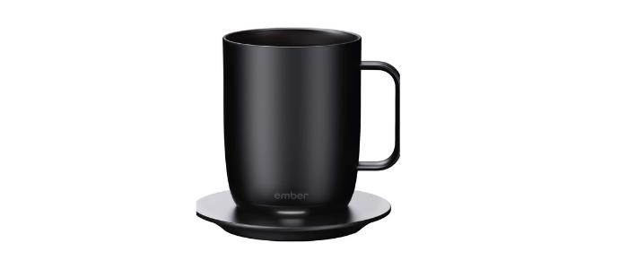 Ember 14oz black coffee mug