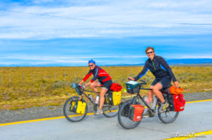 Ciclistas - Ruta 9, Chile