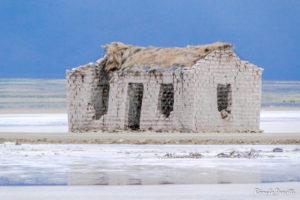 Casa abandonada - Hotel de Sal - Salar de Uyuni, Bolívia