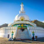 Shanti Stupa - Leh, Índia
