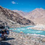 Shyok river - Ladakh, Índia