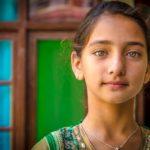 Menina - Manali, Índia