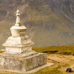 Stupa - Rohtang Pass, Himachal Pradesh, Índia