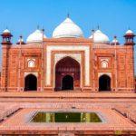 Mesquita - Taj Mahal, Agra, Índia