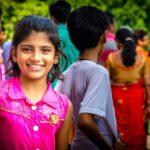 Menina - Nova Délhi, Índia