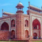 Edifício Hospedaria - Taj Mahal, Agra, Índia