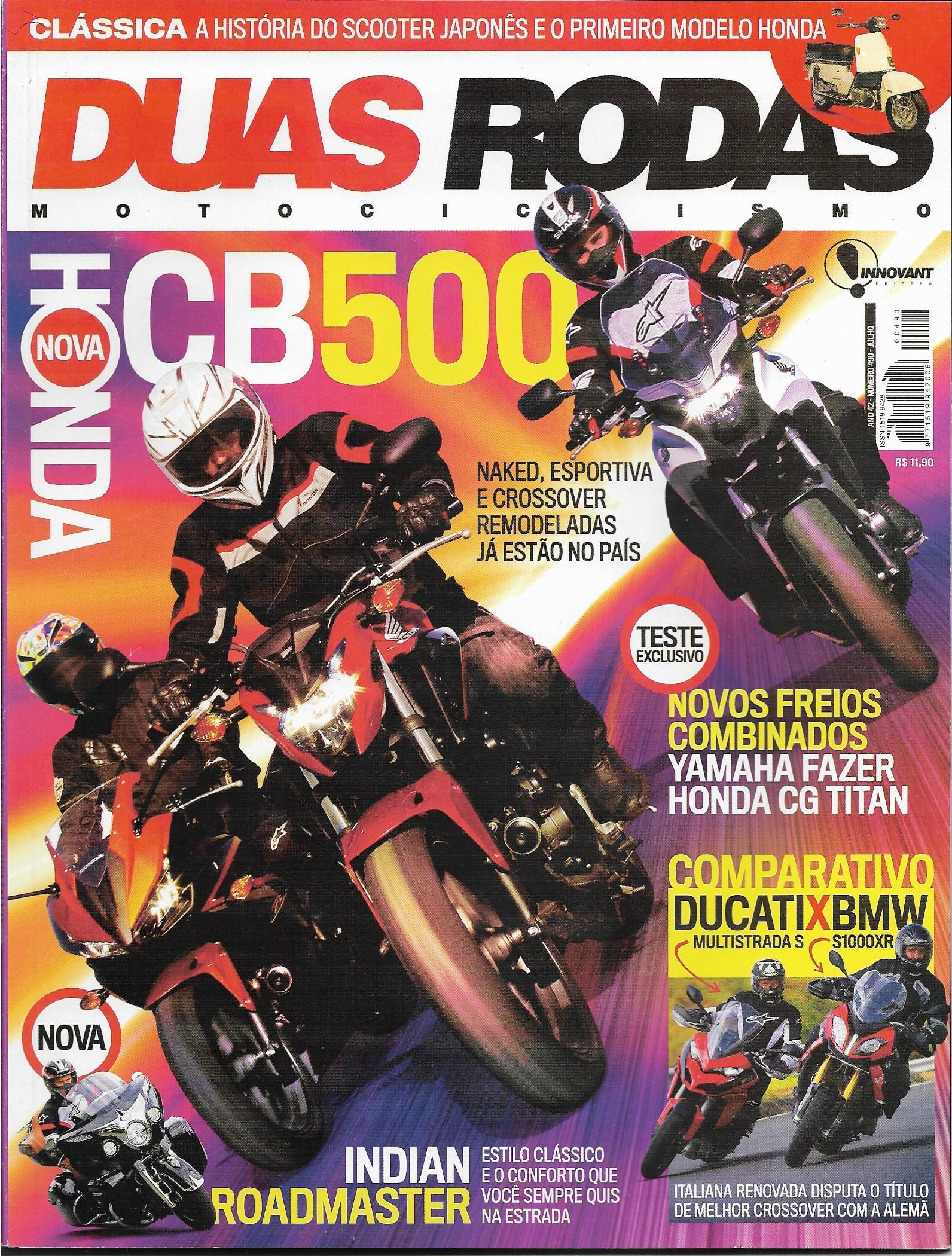 Revista Duas Rodas 490