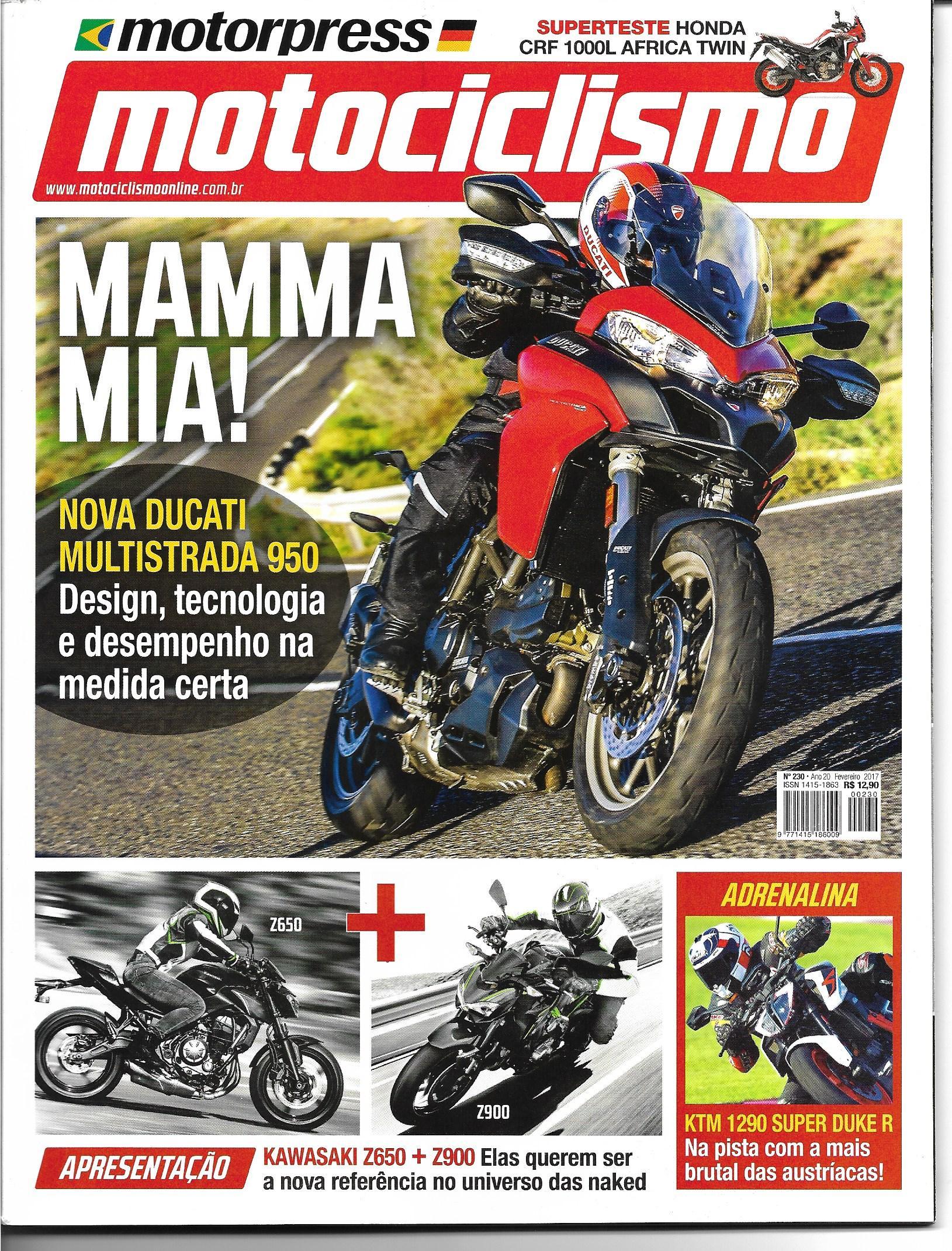 Revista Motociclismo 230