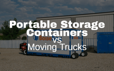 Moving Trucks vs. Portable Storage Containers