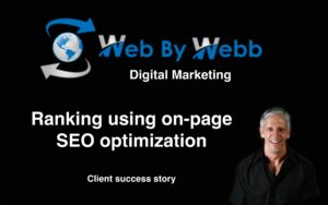 Ranking using on-page SEO