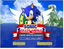 sonic crazy world