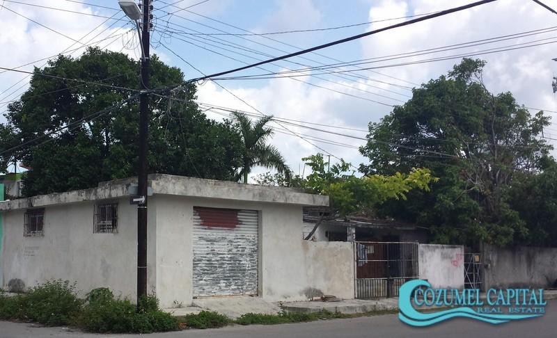 Casa Andrea - corner view, Cozumel.