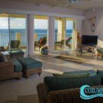 5.- Condo Las Brisas 602 - Living room view