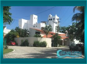 Casa Country for Rent near the ocean in Country Club, Cozumel.