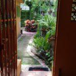 7.- Casa Alegre - Entrance to the gardens Area