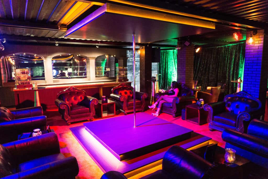 Second Floor Executive VIP Lounge Brass Knuckles