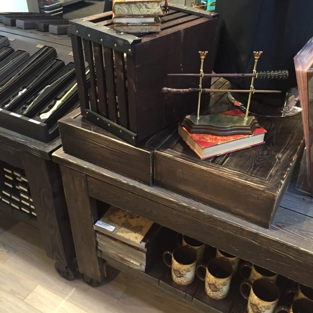 Wood Laminate Custom Display Warner Bros