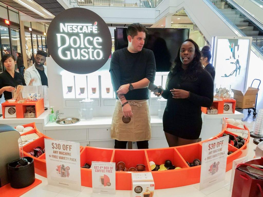 Nescafe Dolce Gusto Mall Kiosk
