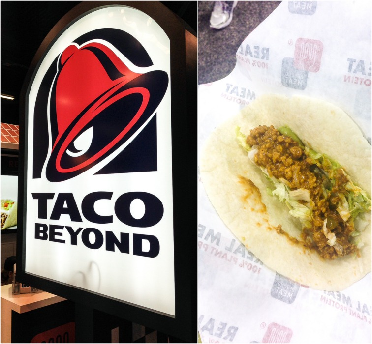 Beyond Meat Taco Bell Custom Sign
