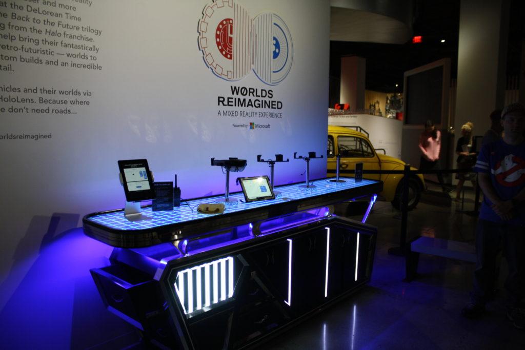 Hololens worlds reimagined Kiosk