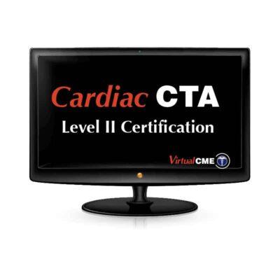Cardiac CTA Level 2 Certification
