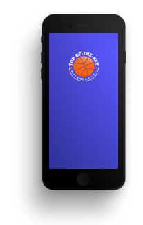 mockup of the Top of the Key mobile App