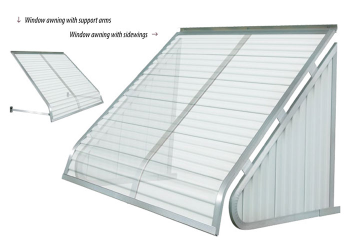 Futureguard window canopies