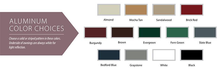 Futureguard canopy color choices