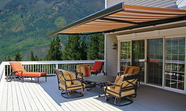 Futureguard the Riviera retractable awning